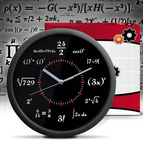 Часы математические