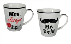 Kubki Mr. Right & Mrs. always Right